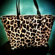 Kate Spade. Leopard print!
