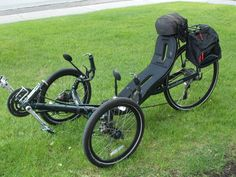 Used Recumbent Tricycles | Recumbent Trike ActionBent – used | RideMore.ca