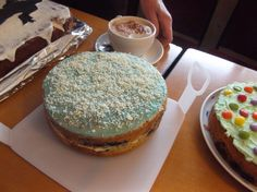 CCC Scarborough - 1950's Rock and Roll - Blueberry suede cake