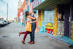 Ally & Kyle   Engagement Shoot   Engagement Photography   Engaged   RINO District   Denver, Colorado   Downtown   Vintage Style   Street Art   musicians   guitar   Couples Photos   Romantic   Tayler Carlisle Photography   tayler.carlisle@gmail.com   www.taylercarlisle.com   Love is the Drug  