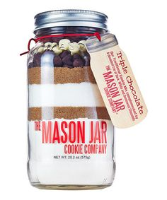 =Triple Chocolate Cookie Mix Jar
