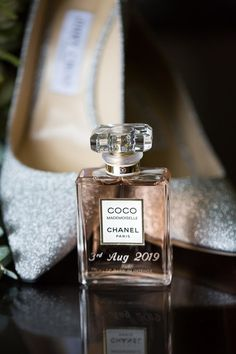 Laura chose a classic Coco Chanel Mademoiselle as her fragrance for her special day Photography Settings, Wedding Photography, Food Photography, Wedding Story, Wedding Day, Wedding Dress, Chanel Wedding, Coco Chanel Mademoiselle, Aesthetic Body