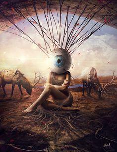 """Vision"" by Przemek Nawrocki - from Goverdose artpack #03 / theme: ""Void"""