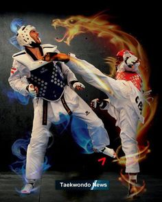Some times when I get kicked it feels like a dragon hit me too. Korean Martial Arts, Mixed Martial Arts, Taekwondo Quotes, Taekwondo Tattoo, Dojo, Mma, Martial Arts Workout, Hapkido, World Of Sports