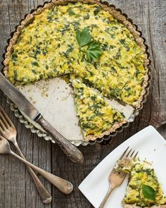 Sundried Tomato, Mushroom, and Spinach Tofu Quiche by Oh She Glows