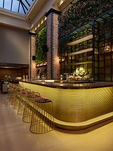 Nico Osteria Salone, Bar, Interior Design, Restaurant Design.