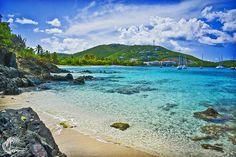 Take a short ride to St. Thomas' Vessup Bay for the day. This secluded beach is a great spot for snorkeling.