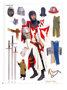 Armements de Chevalier