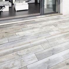 Carrelage terrasse gris 20 x 120 cm Rewood