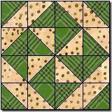 Pinwheel # 7 quilt block pattern - Free Block Pattern at Quilter's Cache