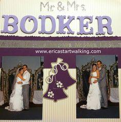 Wedding Scrapbooking fun - found by: http://weddingscrapbookideas.net/ #seemoreweddingideas