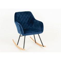 Sininen samettikeinu - Tuppu-Kaluste Rocking Chair, Furniture, Home Decor, Chair Swing, Decoration Home, Room Decor, Rocking Chairs, Home Furnishings, Home Interior Design