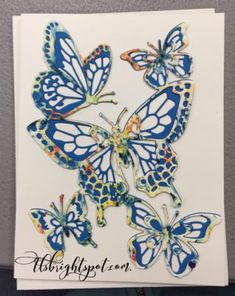 Paper Butterflies, Butterfly Flowers, Butterfly Cards, Flower Cards, Applique Templates, Applique Patterns, Card Templates, Felt Patterns, Leaf Template