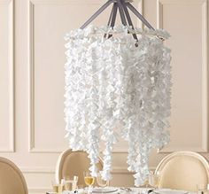 Wedding Decor . . . Delicate White Paper by andSimplicity on Etsy, $450.00