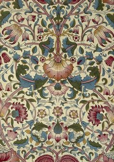 william morris flowers - Google Search