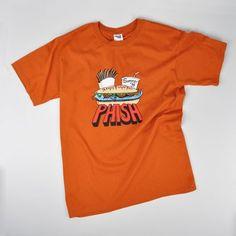 Phish Summer '98 Pollock Fast Food T