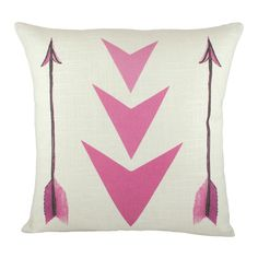 Arrows Pillow #msndesigncrush