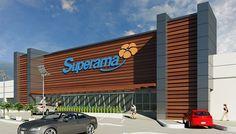 fachadas para supermercados - Buscar con Google