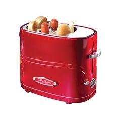 Hot Dog Toaster & Tray Set