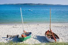 St. Martins Beach, Isles of Scilly, UK