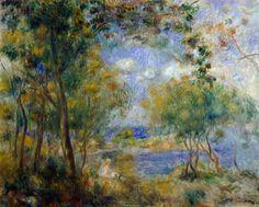 Renoir | Titre de l'image : Pierre-Auguste Renoir - Noirmoutier