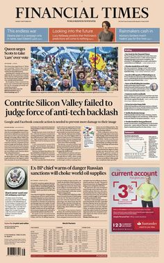 García Media → Financial Times: a classic redesign for the digital age Times Newspaper, Newspaper Design, Financial Times, Digital Strategy, Age, Editorial Design, How To Plan, Sayings, Learning