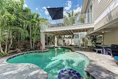 Latitude Adjustment - 5 Homes to Beach in Anna Maria - 5Bedroom w/ Private Pool Futon Bedroom, King Bedroom, Hot Tub Room, Single Bunk Bed, Porch Veranda, Anna Marias, Patio Dining, Lawn And Garden, Rental Property