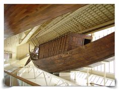Khufu Ship 2500 BC, The Khufu Boat Museum, Egypt