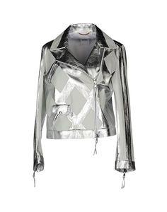 Москино кожаная куртка