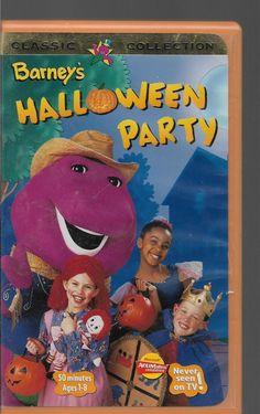 halloween vhs tape