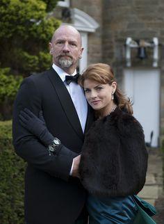 graham & Gwen mctavish. - he makes a wonderful Dougal McKenzie