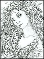 Afbeeldingsresultaat voor zentangle fairies