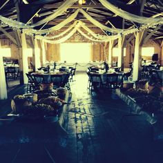 Kristen + Bryan | 5.3.14 | Wedding ceremony and reception at Willow Creek | Inside the barn