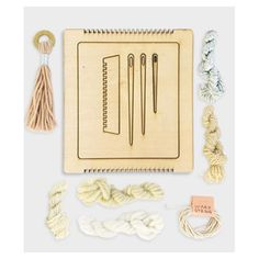 Get your weave on!!!!! Laser cut MINI weaving looms! They are officially for…