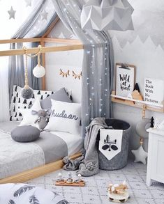 Toddler Bedroom Ideas Best Toddler Rooms Ideas On Toddler Bedroom Ideas Toddler Bedrooms Toddler Girl Small Bedroom Ideas Baby Bedroom, Baby Boy Rooms, Nursery Room, Girls Bedroom, Bedroom Decor, Bedroom Ideas, Master Bedroom, Kid Bedrooms, Nursery Ideas
