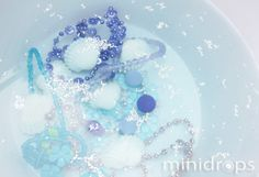 Meerjungfrauenschatz - wer angelt sich die schönste Kette?/ Mermaid Party Game - necklace fishing