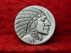1928 P Hobo Nickel The Indian Chief 493 | eBay