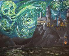 Hogwarts Starry Night