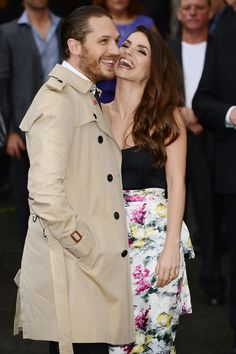 Pin for Later: Tom Hardy Just Gets Better With Age In love in 2012.