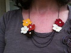 Amber's Creaties: Hang mooie bloemen om. Tutorial
