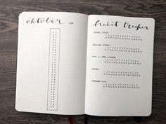 7 Ideen für deinen Bullet Journal Habit Tracker