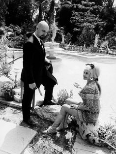 Rare pix of Anton LaVey performing Satanic rites, cavorting with Jayne Mansfield and Forry Ackerman | Dangerous Minds
