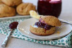 Sweet Plantain Drop Biscuits