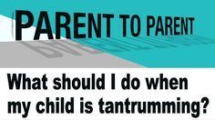 How Do I Curb My Child's Tantrums | The Autism Site Blog