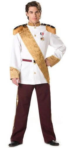 Super Deluxe Prince Charming Adult Costume - Prince Charming Costumes