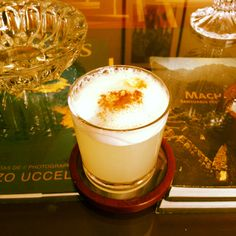 Pisco Sour, Cóctel original del Perú.