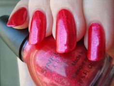 Pretty Girl Science: Sinful Colors Tough Love