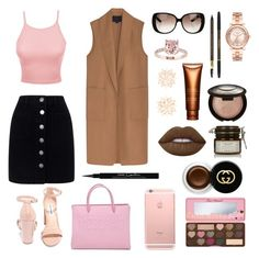 """""""Pretty candy"""" by anissa2208 on Polyvore featuring mode, Miss Selfridge, LE3NO, Alexander Wang, Steve Madden, Moschino, Gucci, Michael Kors, Charlotte Russe et Lime Crime"""