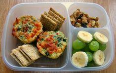 Lunch Box Idea - mini quiche