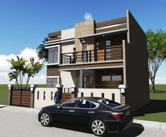 House Plan Purchase - Sets of Plan Blueprint Signed & Sealed) - Only Construction Contract: P M - Low-End/Budget P M - Mid-Range/Standard. Construction Contract, New Home Construction, Modern House Plans, House Floor Plans, 2 Storey House, Ground Floor Plan, House Elevation, Home Design Plans, Simple House